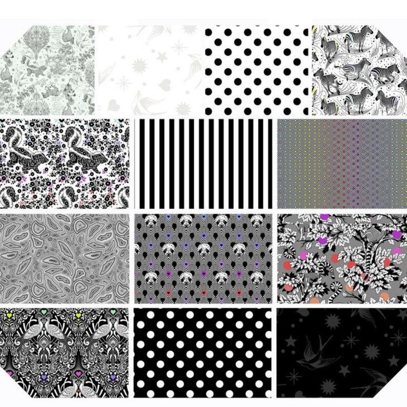 Sketchy LINEWORK In Stock and Ships within 24 hours. by Tula Pink for Free Spirit Fabrics PWTP158.PAPER