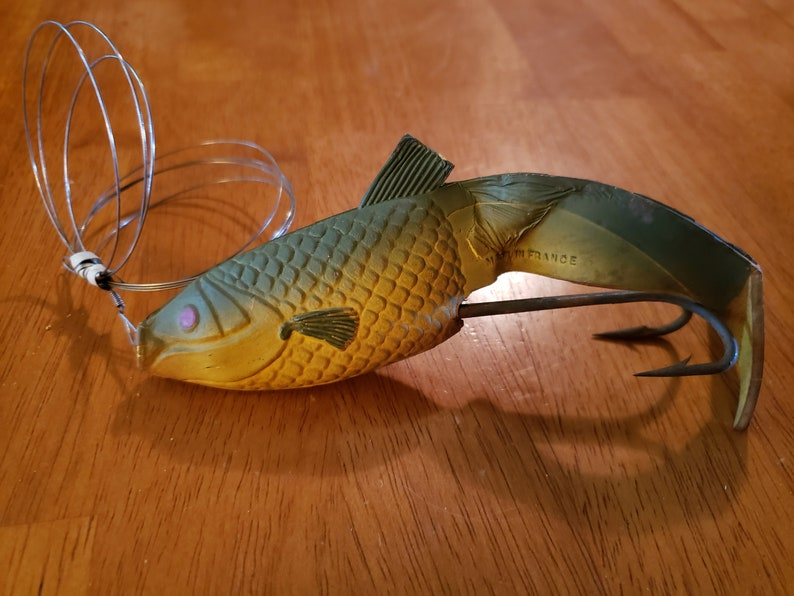 Vintage Hoge VIVIF Fishing Lure made in France