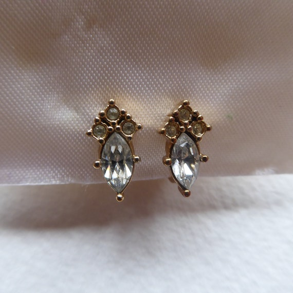 Christian Dior Clip on Earrings