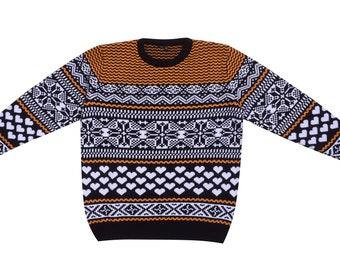Mens Nordic Sweater Etsy