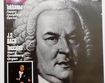 Johann Sevastian Bach Toccata Venil Record