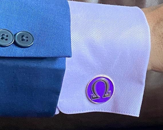 Omega - Cufflinks (25mm)