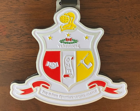 Nupe - Bag Tag - The Coat of Arms (Metal)