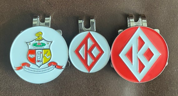 Nupe - The 'Big John' package:  one 35mm Coat of Arms, one 25mm Diamond K, and one 35mm Diamond K Ball Markers