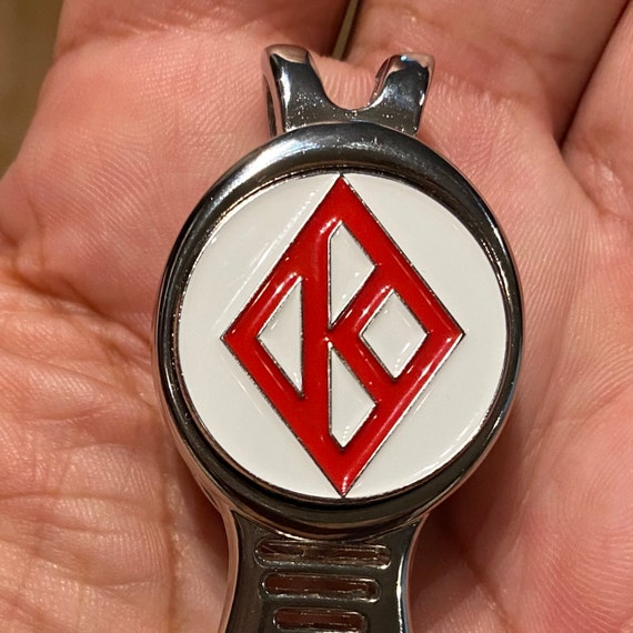 25mm Ball Marker with Divot Tool