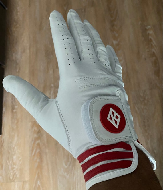 Nupe - Golf Glove - RIGHT (Glove-hand) / LARGE ---(Left-handed Player)