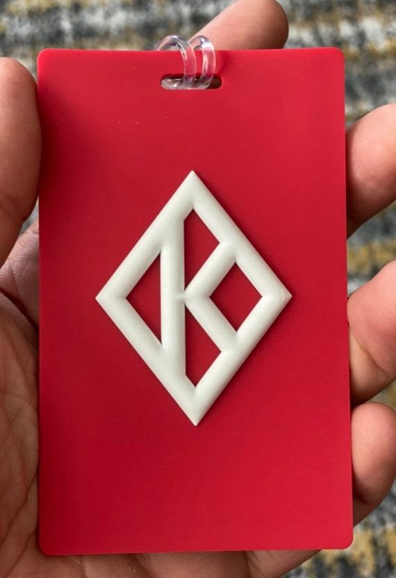 Nupe - Bag Tag - Diamond K
