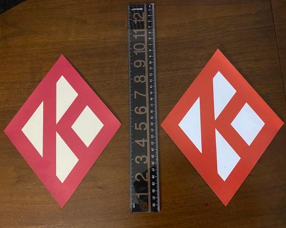 Nupe - Magnet (Large) - Diamond K