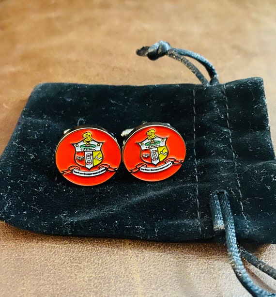 Nupe - Cufflinks - 'Coat of Arms' (20mm) - S A L E