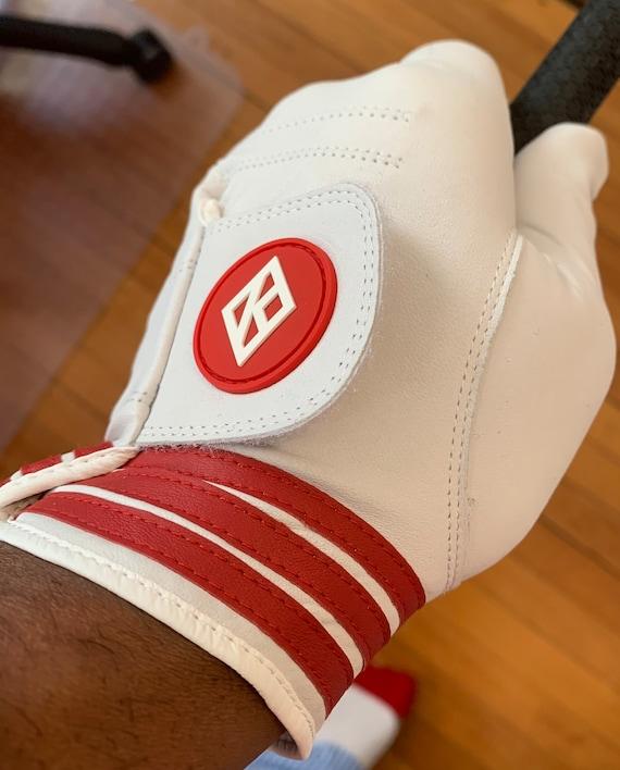 Nupe - Golf Glove - LEFT (Glove-hand) / MEDIUM  ---(Right-handed Player)
