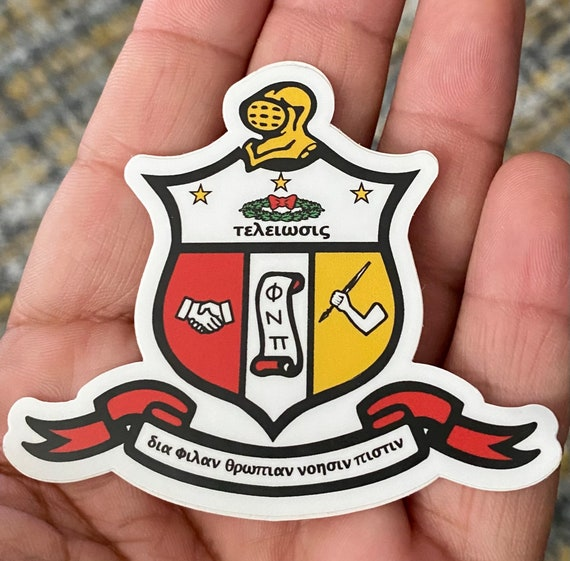 "Nupe - Sticker (Vinyl) - 3"" x 2.55"" - Coat of Arms"
