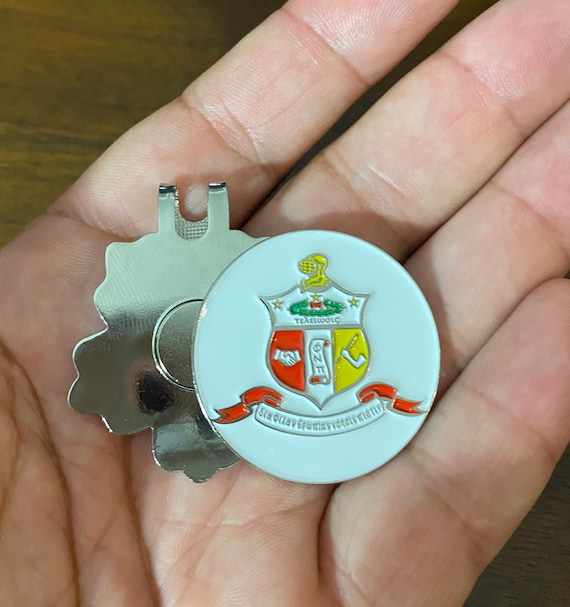 The Coat of Arms Ball Marker (35mm) with Hat Clip