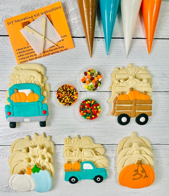 Fall Cookie Decorating Kit INCLUDES 23 ITEMS Zoom Party