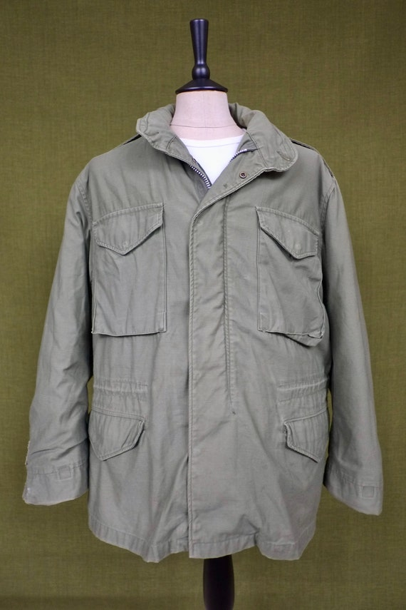 Vintage M-65 Military Jacket with removable liner
