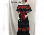 Mexican dress 5XL, May 5, peasant dress, off the shoulders dress, off-the-shoulder size, plus zise dress, Mexican party