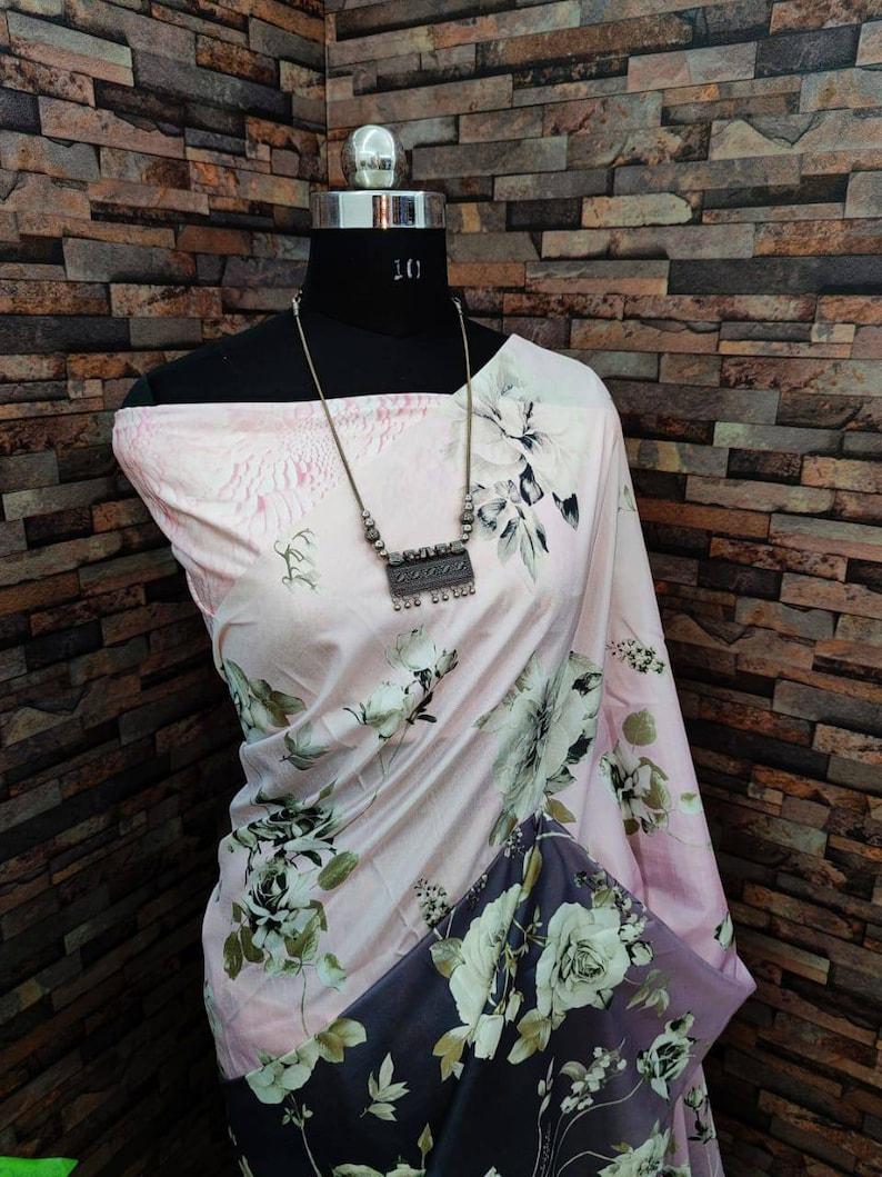 saris indian saree Peach soft slub silk Saree with rose gold zari weaving and blouse for women sari designer saree wedding saree