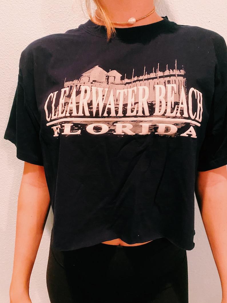 Clearwater Beach crop top