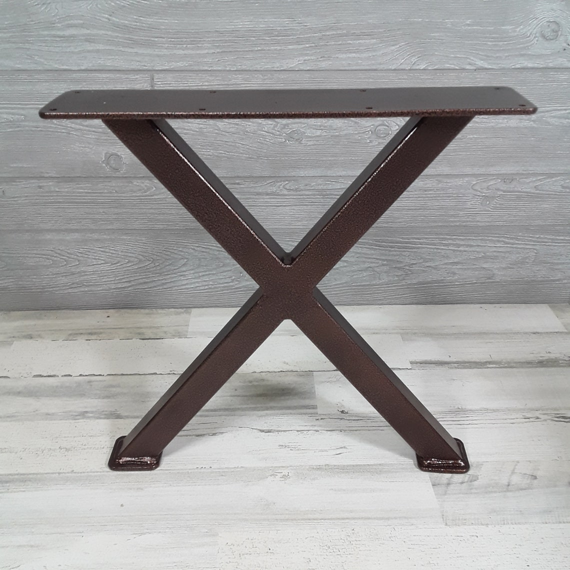 Antique Copper X-series Coffee Table Legs