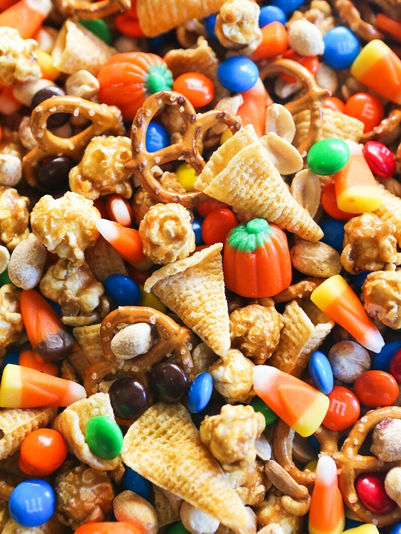 Homemade Fall Harvest Snack Mix
