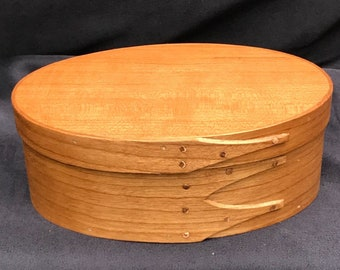 Shaker Oval Box Size #2 Cherry
