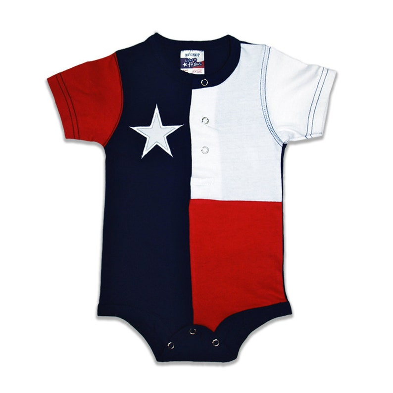 Baby Texas Crawler  Free Bib included image 0