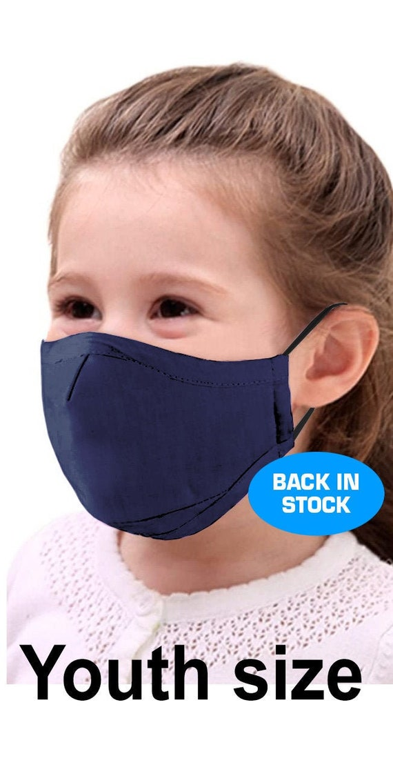 Kids Youth Face Mask - Medium weight - Back in stock! by RockpointMarketplace