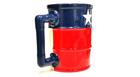 Oil Barrel Coffee mug | Oil drum Mug by RockpointMarketplace