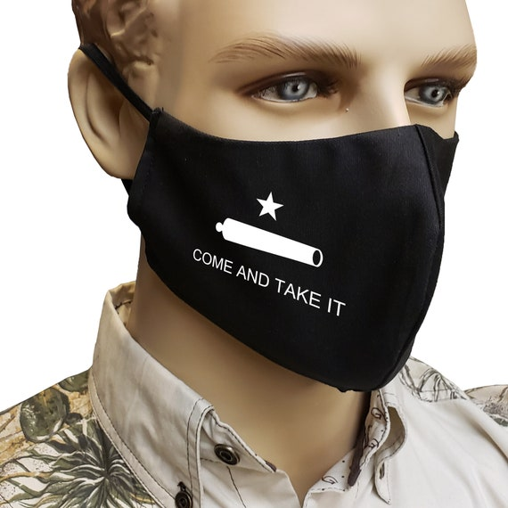 Come and Take It - Mask | Handmade | 100% Cotton by RockpointMarketplace