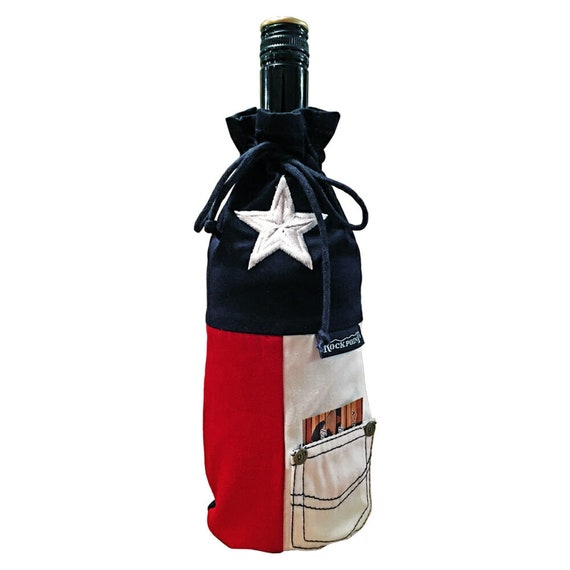 Texas Wine Bag by RockpointMarketplace