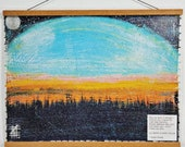 No Better Feeling - (Summer Sunset) 18x24 inch Gallery (Canvas Poster) Topher Kearby Poetry Quote Landscape Nature