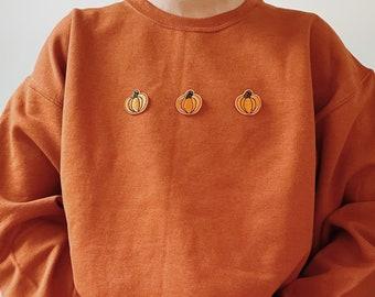 Pumpkin Sweatshirt  Halloween Sweatshirt   Pumpkin Spice Sweatshirt  Fall Sweatshirt   Halloween Crewneck   Thanksgiving Sweatshirt
