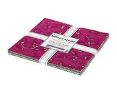 Silverstone 10 quot Square Pack (Layer Cake Ten Square) by Wishwell for Robert Kaufman (ten-1010-42)