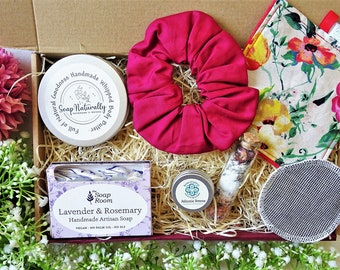 BEAUTY Box Handmade Self care Hamper Irish Gift for her Pamper box Care Package Birthday gift Spa gift Care package Bridesmaid Gift New Mom