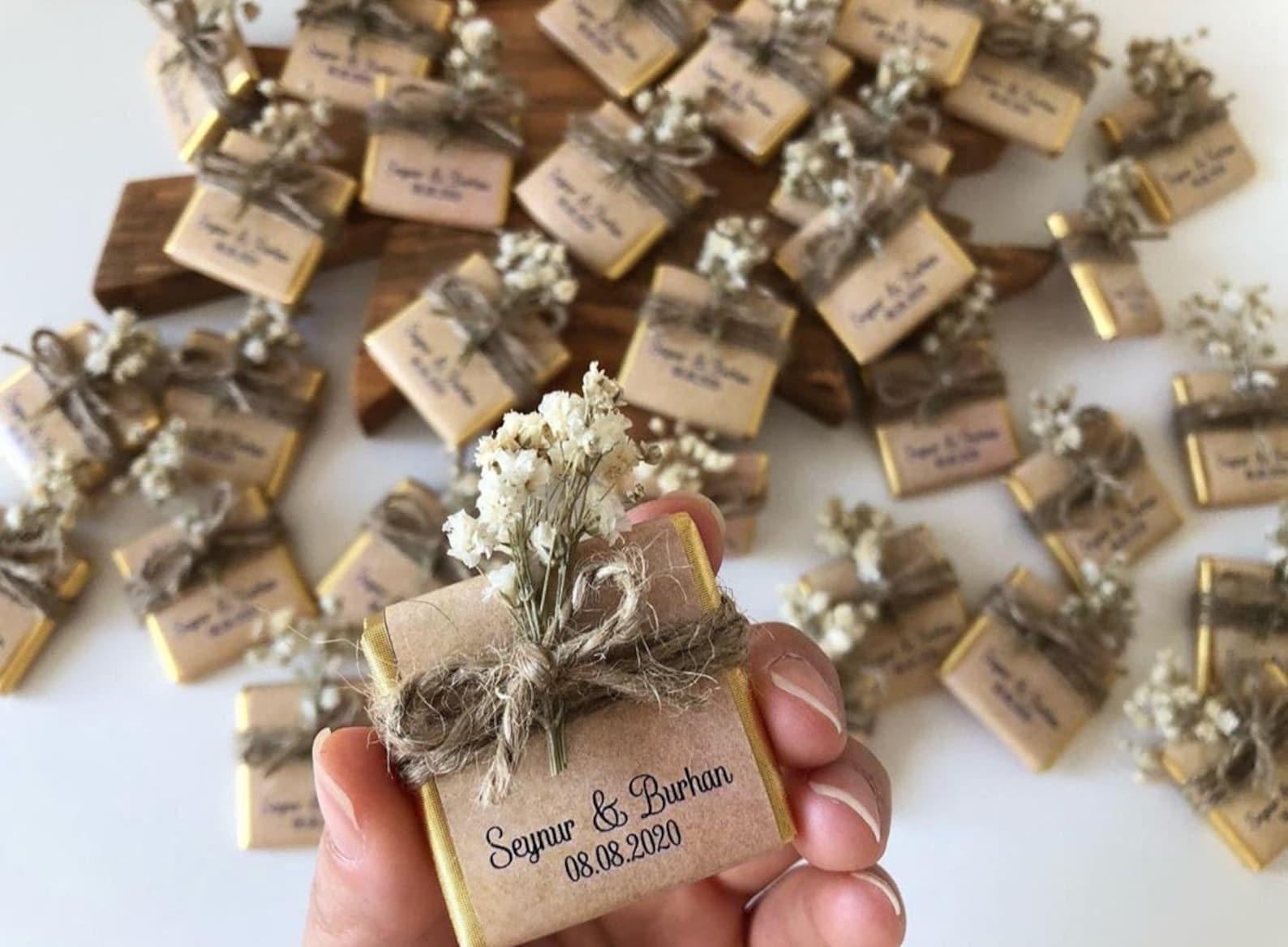 Affordable Edible Wedding Favors - Wedding Chocolate Favors