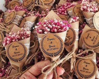 Magnet Favors for Guest, Rustic Wedding Favors,Baby Shower Favors, Backyard Wedding Favor, Magnet Favors,Personalized Favors, Flower Favors