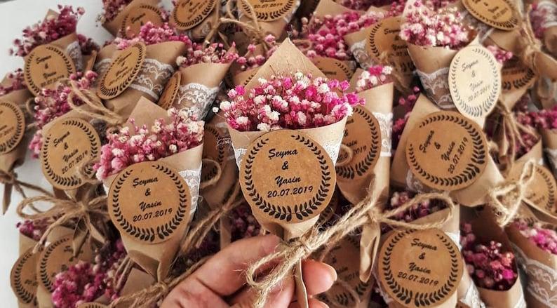 Magnet Favors for Guest Rustic Wedding FavorsBaby Shower image 0