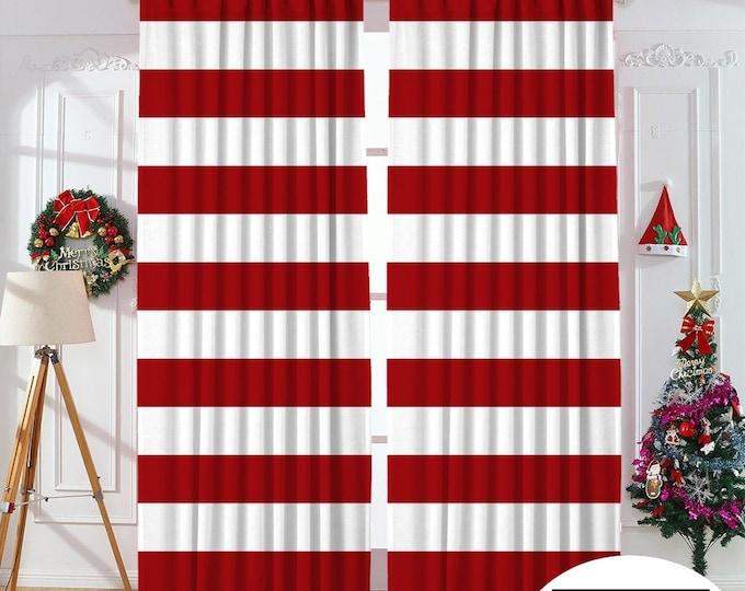 Christmas Home Decor,New Year,Noel Decoration,Window Curtain,Velvet look,Home Decor,Decoraticve,Custom Size,Made to order,Digital Printed