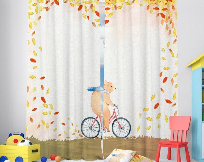 Kids Combine Room Curtain,Carpet,Cushion Cover,Nursery Room,Window Treatments,Velvet Look,Room darkering,Custom size,Made to order,Home Deco