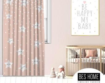 Kids room,Nursery room,Window Curtain 1 panel, Blackout , Room darkering,Custom size,Made to order, Termal insulited,Noise reducing