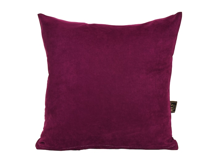 Solid Purple Pillow Cover,Luxury Sofa Cushion,Modern Sofa Cushion,Outdoor Pillow,Throw Cushions, solid color pillow cover