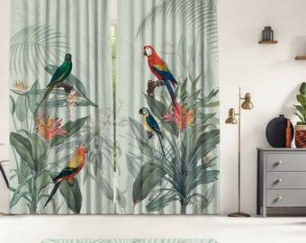 Tropical Series 3,Window Curtain 2 panels set,Blackout,Room darkering,Custom size,Termal insulited,Noise reducing