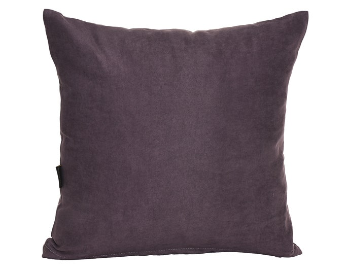 Solid Grey Pillow Cover,Luxury Sofa Cushion,Modern Sofa Cushion,Outdoor Pillow,Throw Cushions, solid color pillow cover