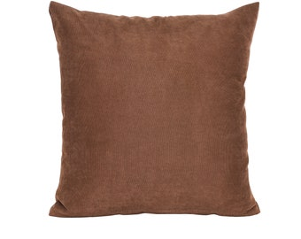 Solid Light Brown Pillow Cover,Luxury Sofa Cushion,Modern Sofa Cushion,Outdoor Pillow,Throw Cushions, solid color pillow cover