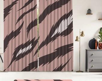 Tropical Series 7,Window Curtain 2 panels set,Blackout,Room darkering,Custom size,Termal insulited,Noise reducing