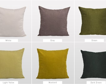 Solid Green Colors,Pillow Cover,Luxury Sofa Cushion,Modern Sofa,Kissenbezug,Cushion,Outdoor Pillow,Throw Cushions,Solid colors Pillow cover