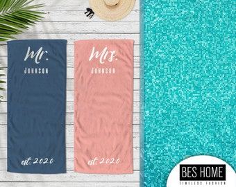 Personalized %100 Turkish Beach Towel, XXXLarge, Birthday Gift, Monogrammed, Spring Break,Custom Size Towel , Gift for Him or Gift for Her