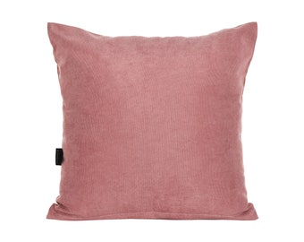 Solid Rose Pink Pillow Cover,Luxury Sofa Cushion,Modern Sofa Cushion,Outdoor Pillow,Throw Cushions, solid color pillow cover