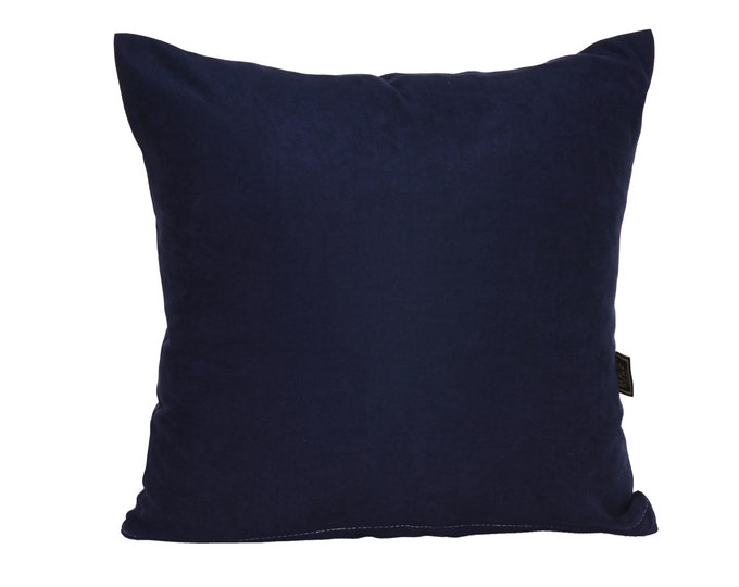 Solid Navy Blue Pillow Cover,Luxury Sofa Cushion,Modern Sofa,Kissenbezug,Cushion,Outdoor Pillow,Throw Cushions,Solid colors Pillow cover