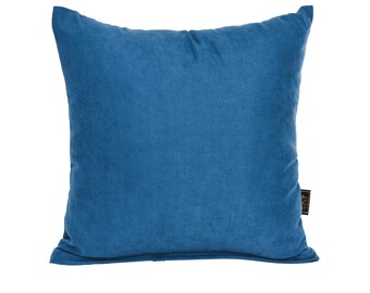 Solid Sea Blue Pillow Cover,Luxury Sofa Cushion,Modern Sofa Cushion,Outdoor Pillow,Throw Cushions, solid color pillow cover