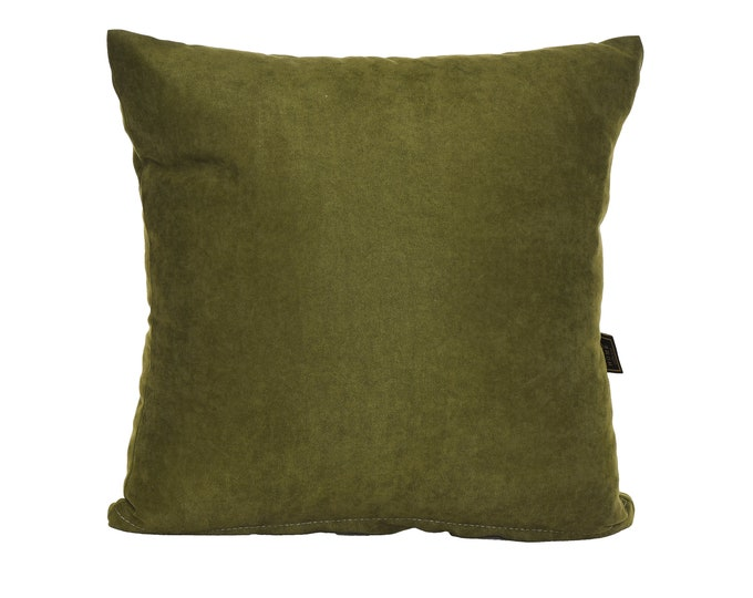 Solid Green Pillow Cover,Luxury Sofa Cushion,Modern Sofa Cushion,Outdoor Pillow,Throw Cushions, solid color pillow cover